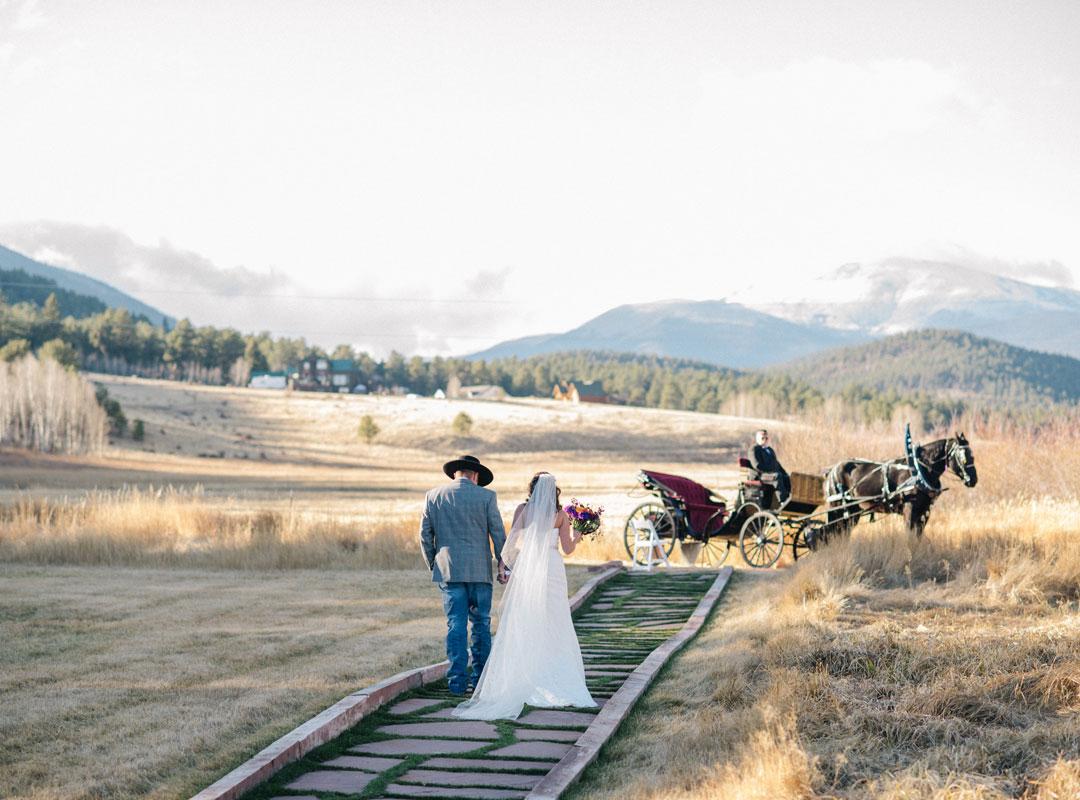 Deer Creek Valley Ranch Value Season Wedding
