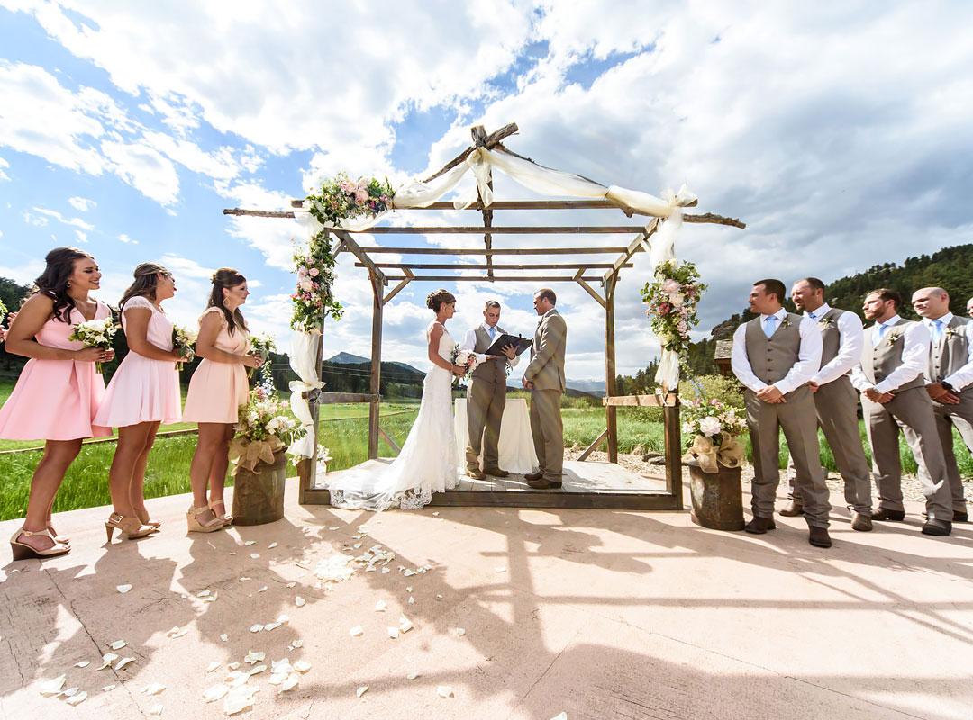 Colorado Barn Weddings Deer Creek Valley Ranch
